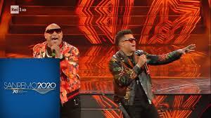 Sanremo 2020 - Gente De Zona 'La Gozadera' e 'Bailando' - YouTube