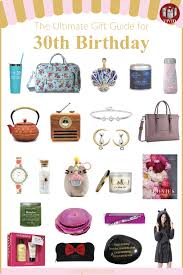 30 awesome 30th birthday gifts for her