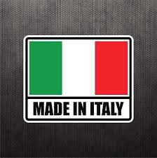 Made In Italy Flag Sticker Vinyl Decal Italian Car Sticker For Fiat Ducati Bike Ebay Car Stickers Vinyl Decals Italy Flag