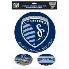 Sporting Kc Kansas City Mls Wincraft Sports Indoor Outdoor Car Magnets