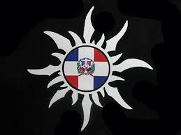 Dominican Republic Sun With Flag Car Decal Sticker Republica Dominicana Ebay
