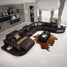 leather corner sofa set for living room