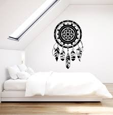 Vinyl Wall Decal Dreamcatcher Kids Bedroom Decoration Above Bed Sticke Wallstickers4you