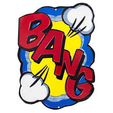 Bang Metal Sign Hobby Lobby 319186
