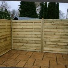 Tesco Direct 4ft Pressure Treated Horizontal Weave Fencing Panels 1 Panel Only 4 Fence Panels Uk Fence Panels Horizontal Fence