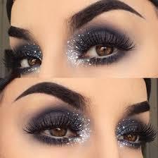 dramatic glitter eye makeup saubhaya