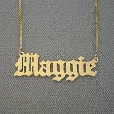 10k gold personalized custom made