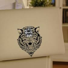 Wolf Macbook Decal Mac Pro Decals From Mixeddecal On Etsy