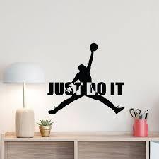 Fat Michael Air Jordan Jumpman Funny Vinyl Window Auto Car Sticker Decal Die Cut