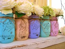 mason jar flowers hd