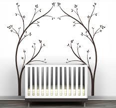Littlelion Studio Portal Tree Canopy Bed Headboard Wall Decal Reviews Wayfair