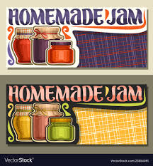 homemade jam royalty free vector image