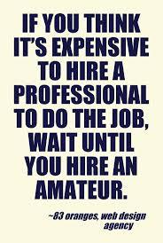 in my case a professional translator or editor web design