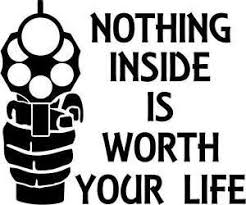 Nothing Inside Worth Dying For Vinyl Car Laptop Window Wall Decal Mymonkeysticker Com