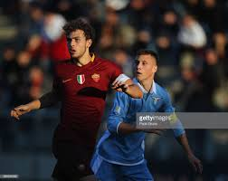 Eros De Santis of AS Roma competes for the ball with Ramon Muzzi of... News  Photo - Getty Images