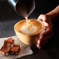 double wall glass latte coffee mugs