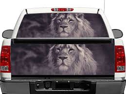 Product Bw Lion King Rear Window Or Tailgate Decal Sticker Pick Up Truck Suv Car