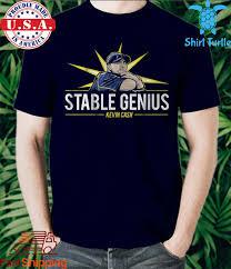 Kevin Cash Stable Genius Shirt, Tampa ...