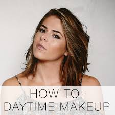 how to simple day makeup tutorial