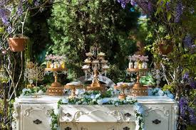 vintage garden party decorations