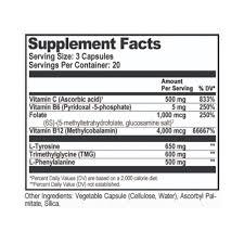 Natural Stacks Dopamine Brain Food 60 vcaps