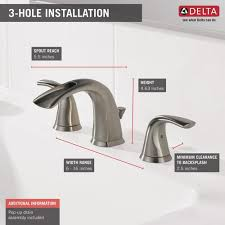 delta nyla two handle 8 widespread