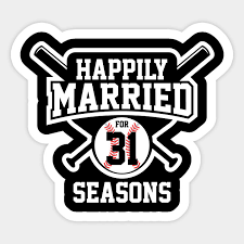31st anniversary tee happily married