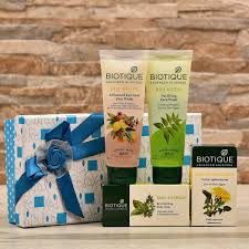 skin and body care her in gift box