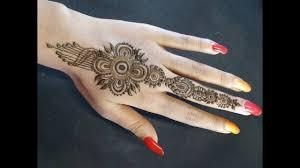 new mehndi design 2019 back hand