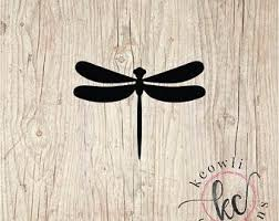 Dragonfly Wall Decal Etsy