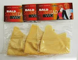 graftobian plastic bald caps for