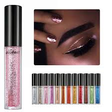 eyes makeup glitter and shimmer
