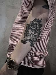 Tatuaz Wilk Znaczenie I Symbolika Rock N Roll Tattoos