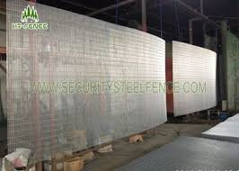 Anti Ultraviolet Anti Climb Fence Security Welded Wire Mesh Fencing Panels