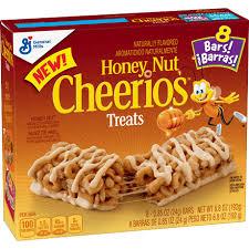 honey nut cheerios treats bars cheerios