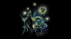 hd wallpaper starry night painting