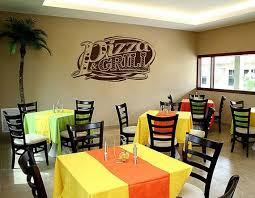 Kik1031 Wall Decal Sticker Pizza Grill Ingredients Pizzeria Italian Restaurant Duvar
