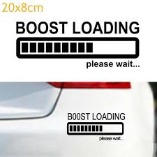 Funny Car Sticker Vinyl Decal For Jdm Turbo Diesel Boost Loading Please Wait Auto Parts And Vehicles Car Truck Graphics Decals Gantabi Com