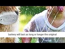 Ruzixt Dog Fence Batteries Compatible With Invisible Fence R21 R22 R51 And Microlite Collars Battery Youtube