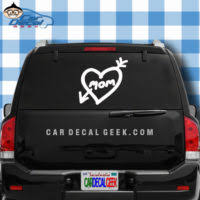 Mommy Life Car Window Decal Sticker Mom Decals