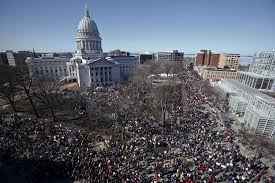 Protests Fail to Sway Wisconsin Governor - WSJ