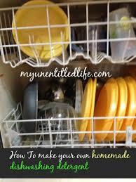 how to make your own dishwashing powder