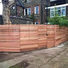 Western Red Cedar Fencing Contractors In London