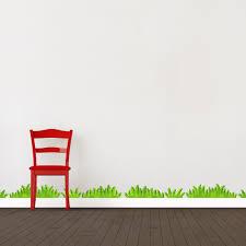 3d Grass Wall Decal