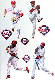 Philadelphia Phillies Mlb Team Logo Decal Stickers Baseball
