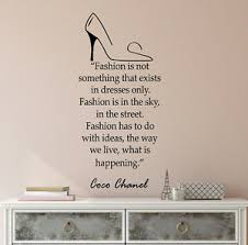 Vinyl Wall Decal Fashion Store And Beauty Shopping Chanel Stickers 4280ig Ebay