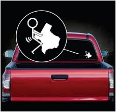 Fuck Texas Car Window Decal Sticker Custom Sticker Shop