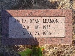 Twila Dean Leamon (1953-1996) - Find A Grave Memorial