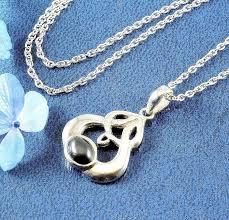 sterling silver celtic love knot