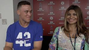 Claudia Gestro Talks With Aaron Judge ...